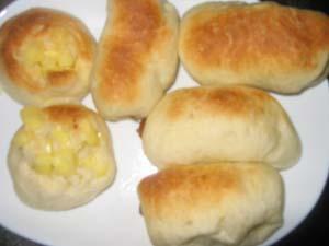 ウィンナー、チーズまきパン