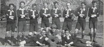 15 Aug 08 - The badge of Rudar's predecessor club