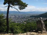 物見の岩と善光寺平090621_cIMG_1111
