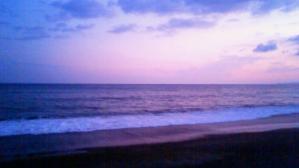 伊良湖から遠州灘