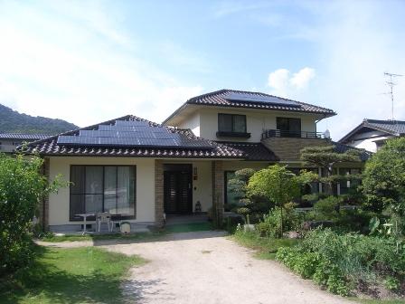 横山様邸完了