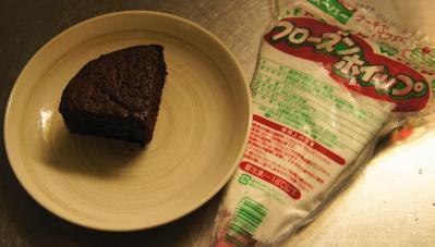 a作業前のケーキ