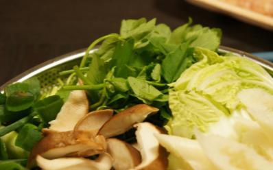 a芹・椎茸(白菜)