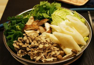 aきりたんぽ・野菜・きのこ