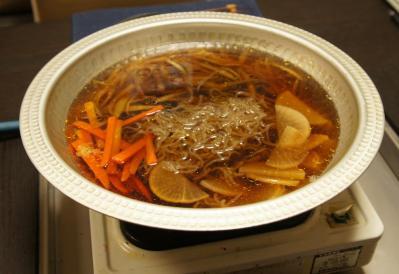 aきりたんぽ・鍋