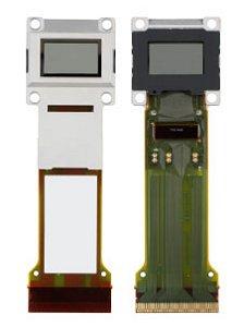 倍速駆動対応の新D7/C2FINEパネル「L3C07U-85G11」。表(左)と裏(右)