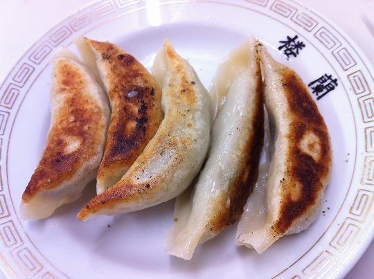 楼蘭の餃子