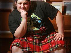 スカートが好きなマイケル君