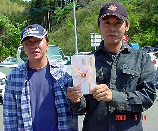 第1戦ウイナー立花・樋口ペア