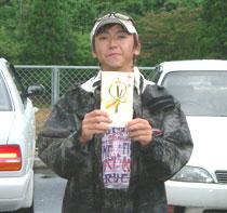 GBツアー第4戦のウイナー細川プロ