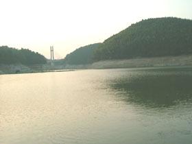 10月27日の北山湖