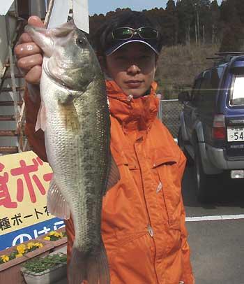 今回の最大魚 1kgUP!!