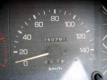 気が付けば・・35万KM走破・・・