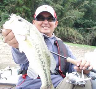 実釣時間内の最大魚です。