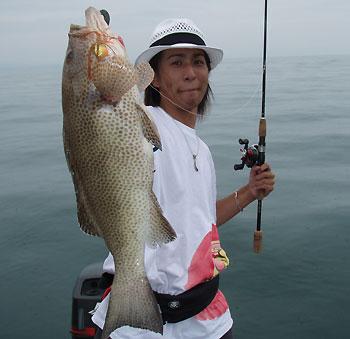 宮本君がキャッチした今回の最大魚
