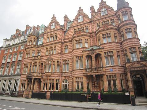 ロンドンの高級住宅