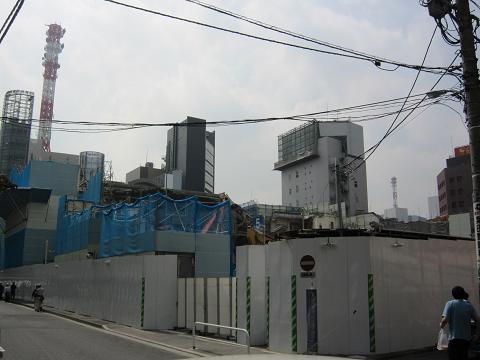 歌舞伎座解体