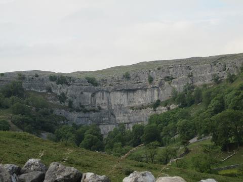 ヨークシャーの岩