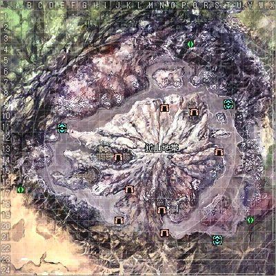 クレッグ鉱山マップ(旧RF)