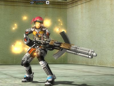 47レンジャー服+50C銃
