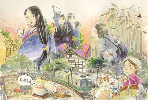 絵日記・京都