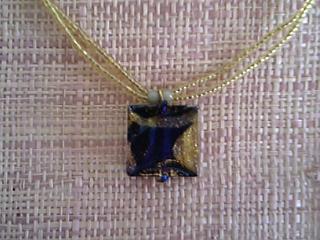 ベネチアンガラスのネックレス