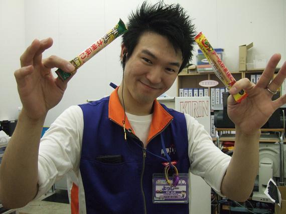 お菓子とよっすぃ