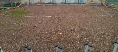 鋼管杭をうつ場所