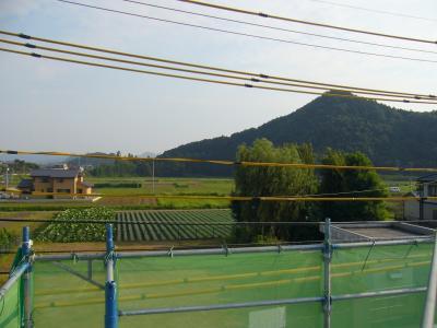 屋根からの眺め