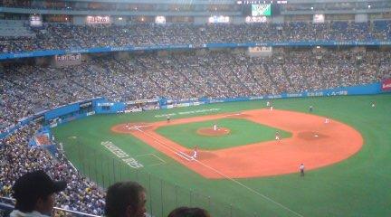 今は京セラドームでも俺の中では永遠の大阪ドーム!!