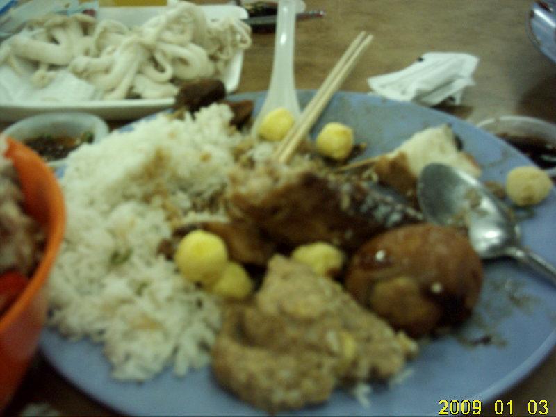 2009.1マレーシア 4日目 チャイナどんぶり デラックス4
