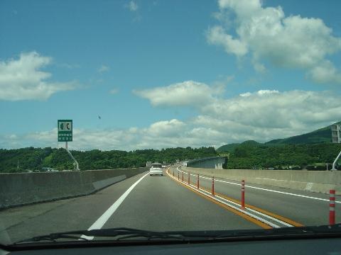 日本一長い高速高架橋(2008.08.16)
