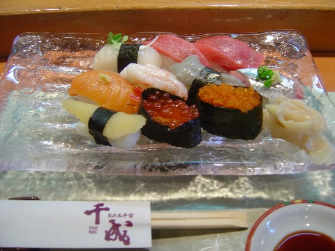 千成の寿司(2008.08.16)
