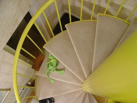 階段のどまんなか!(2008.08.20)