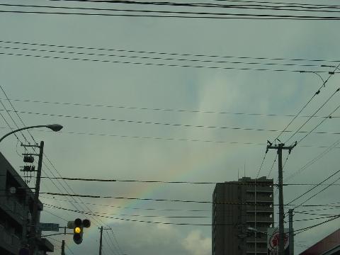 秋の虹(2008.09.27)