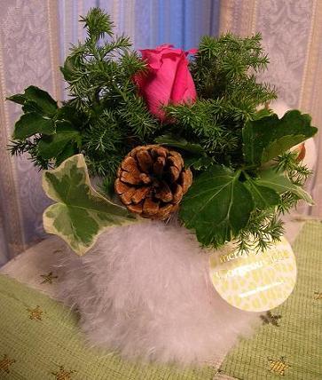 クリスマスの花束