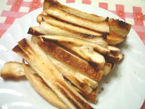 パン耳トースト