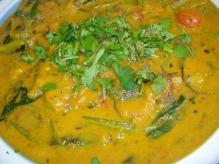 野菜カレー南瓜