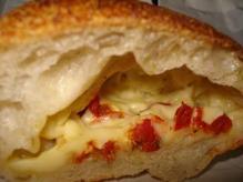 セロリとトマトとチーズ