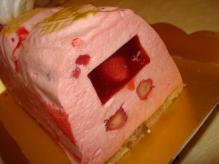 パリ空ケーキ断面