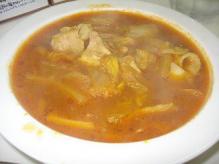 白菜と豚肉のカレー