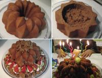モグラのケーキ