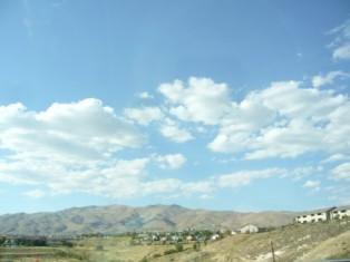 ネバダ州の空