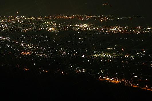 城岱牧場から函館夜景