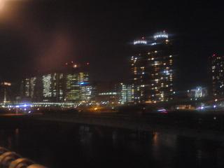 夢の大橋から夜景