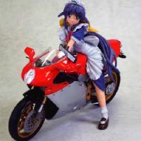 まほろさんとスポーツバイク 無免はいけないと思いますVer. 完成品