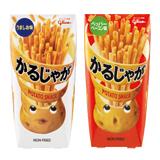 江崎グリコ株式会社『かるじゃが <うましお味> <ペッパーベーコン味>』