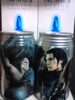 ポーション缶♪