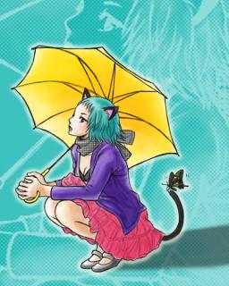 梅雨とネコミミ