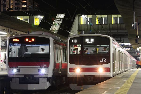 京葉線の主とも並びました。
